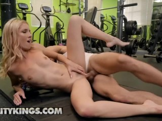 Reality Kings – Mazzy Grace takes on some toxic masculinity at the gym