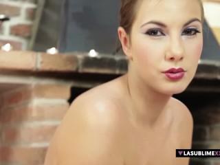 LaSublimeXXX Connie Carter makes a blowjob during an erotic massage
