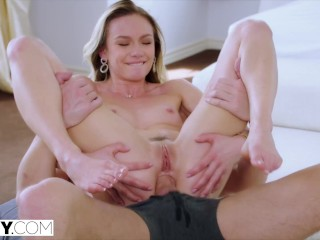 TUSHY Her BF's brother satisfies her anal cravings
